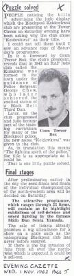 Evening Gazette 01-11-1962